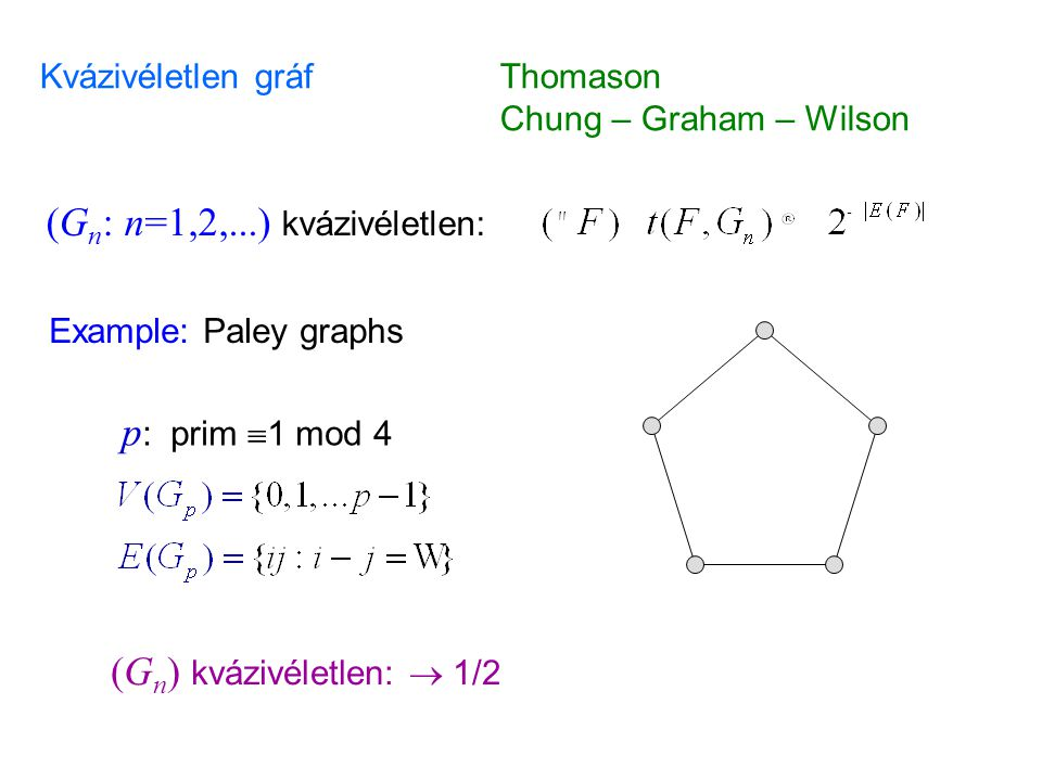(Gn: n=1,2,...) kvázivéletlen: