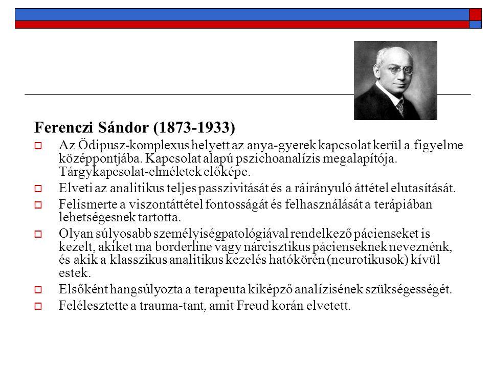 Ferenczi Sándor (1873-1933)