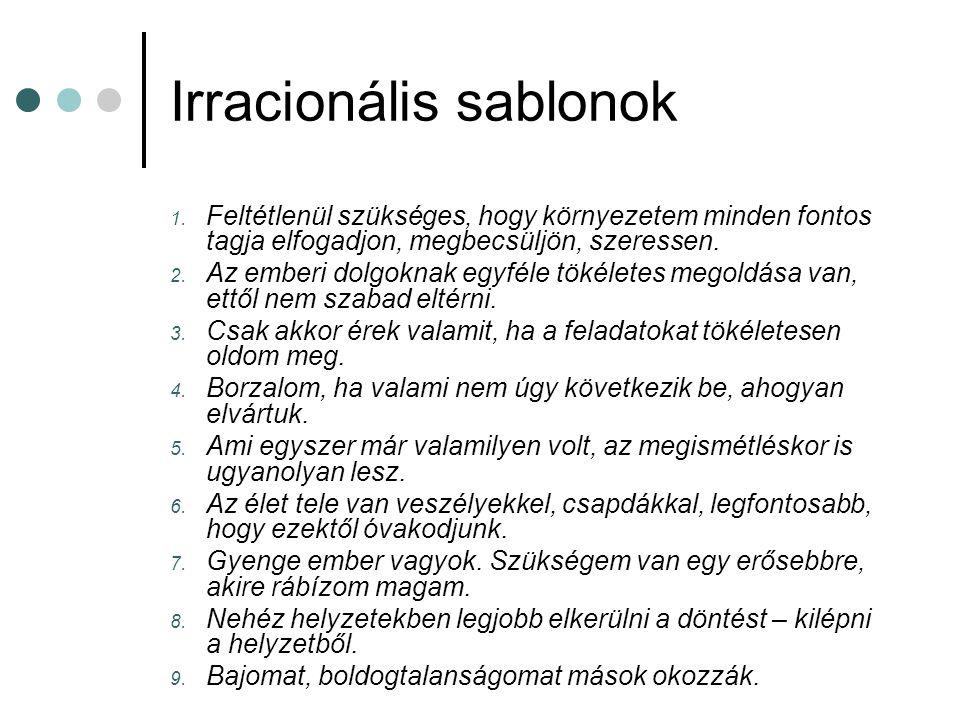 Irracionális sablonok