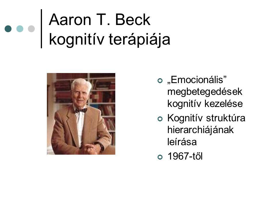Aaron T. Beck kognitív terápiája