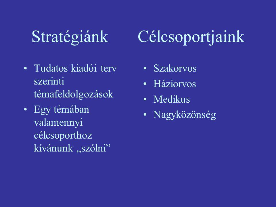 Stratégiánk Célcsoportjaink
