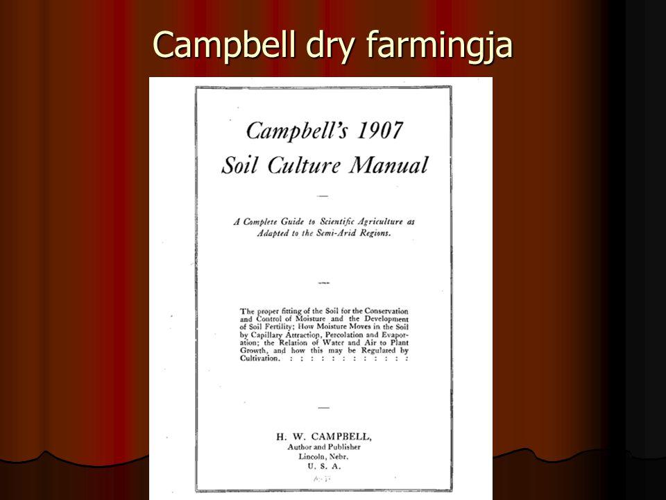 Campbell dry farmingja