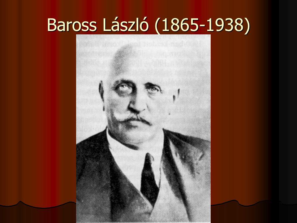 Baross László (1865-1938)
