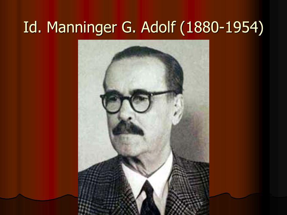 Id. Manninger G. Adolf (1880-1954)