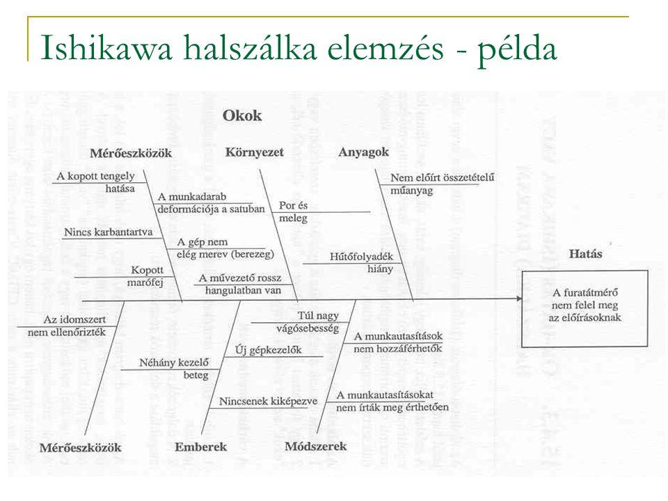 Ishikawa halszálka elemzés - példa