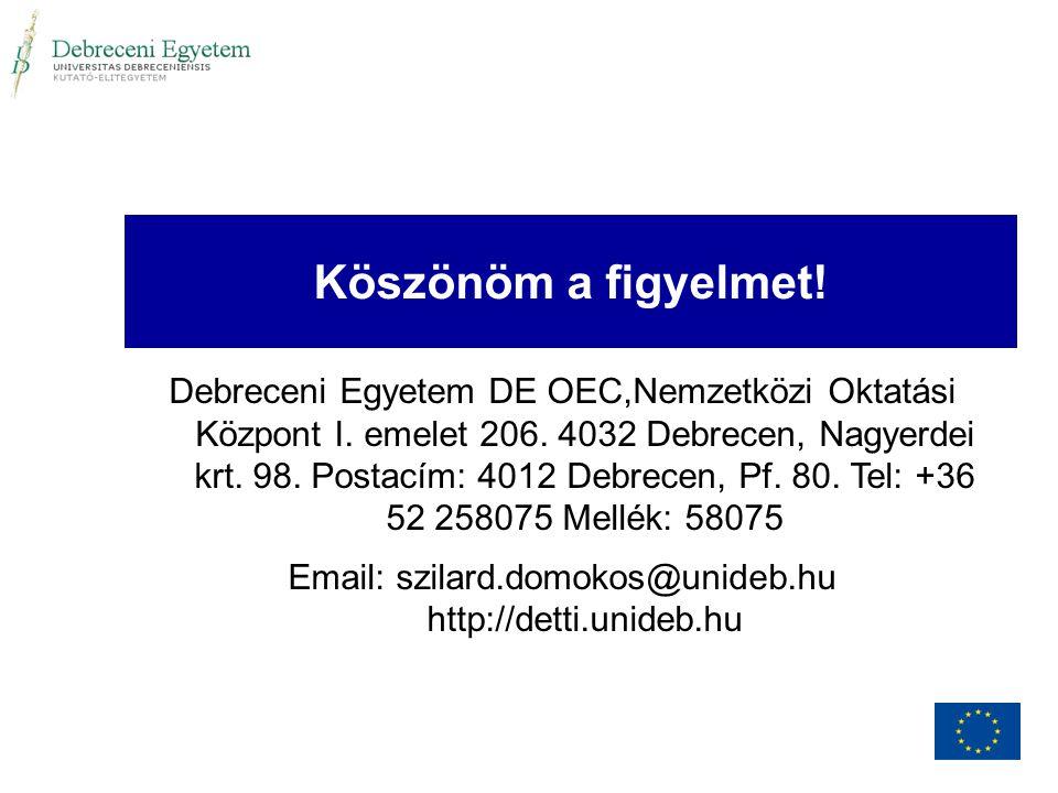 Email: szilard.domokos@unideb.hu http://detti.unideb.hu
