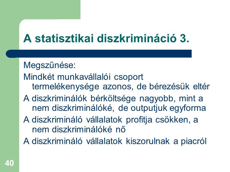 A statisztikai diszkrimináció 3.