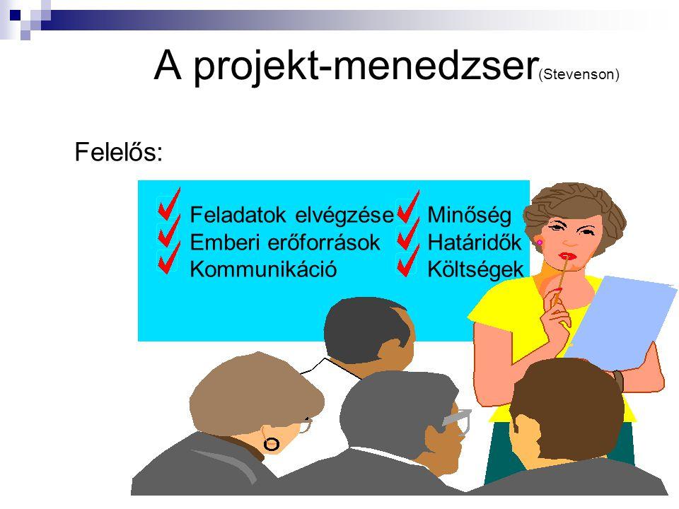 A projekt-menedzser(Stevenson)