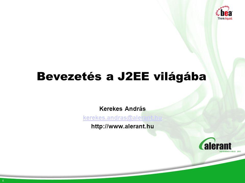 Bevezetés a J2EE világába