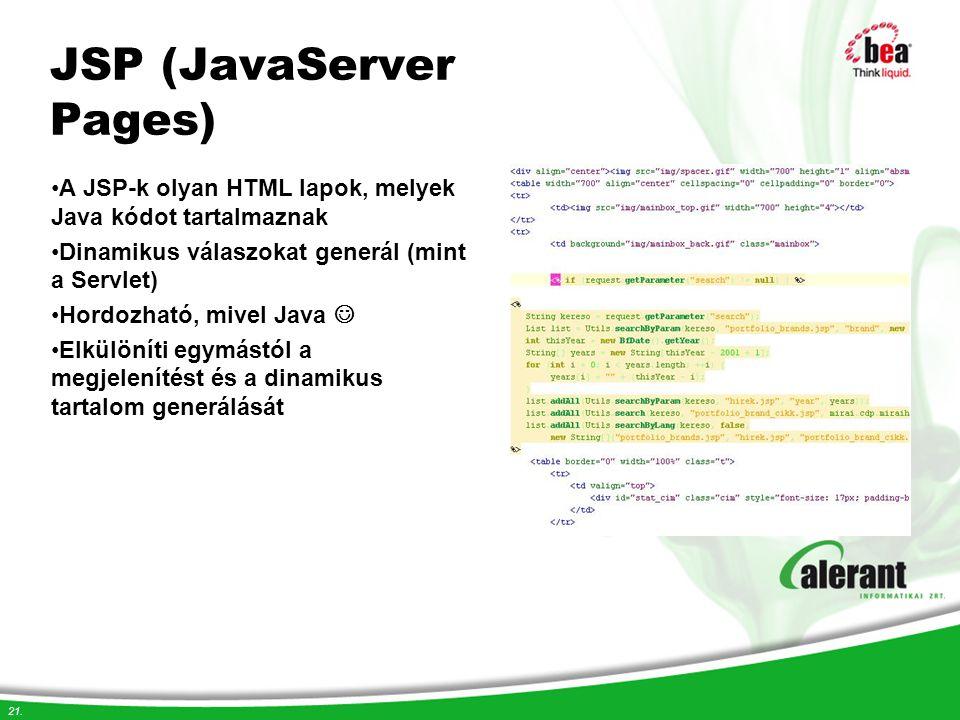 JSP (JavaServer Pages)