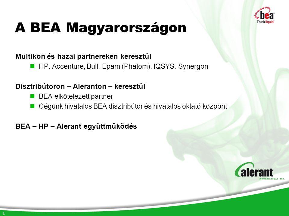 A BEA Magyarországon Multikon és hazai partnereken keresztül
