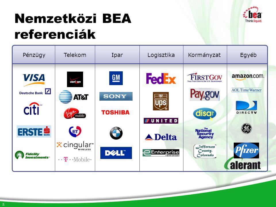 Nemzetközi BEA referenciák