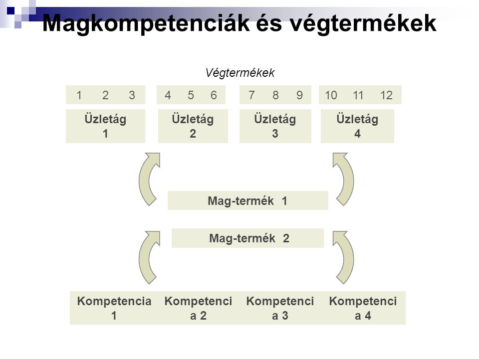 Magkompetenciák és végtermékek