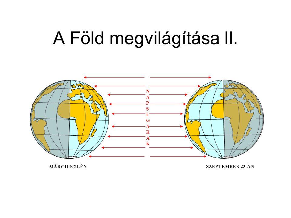 A Föld megvilágítása II.