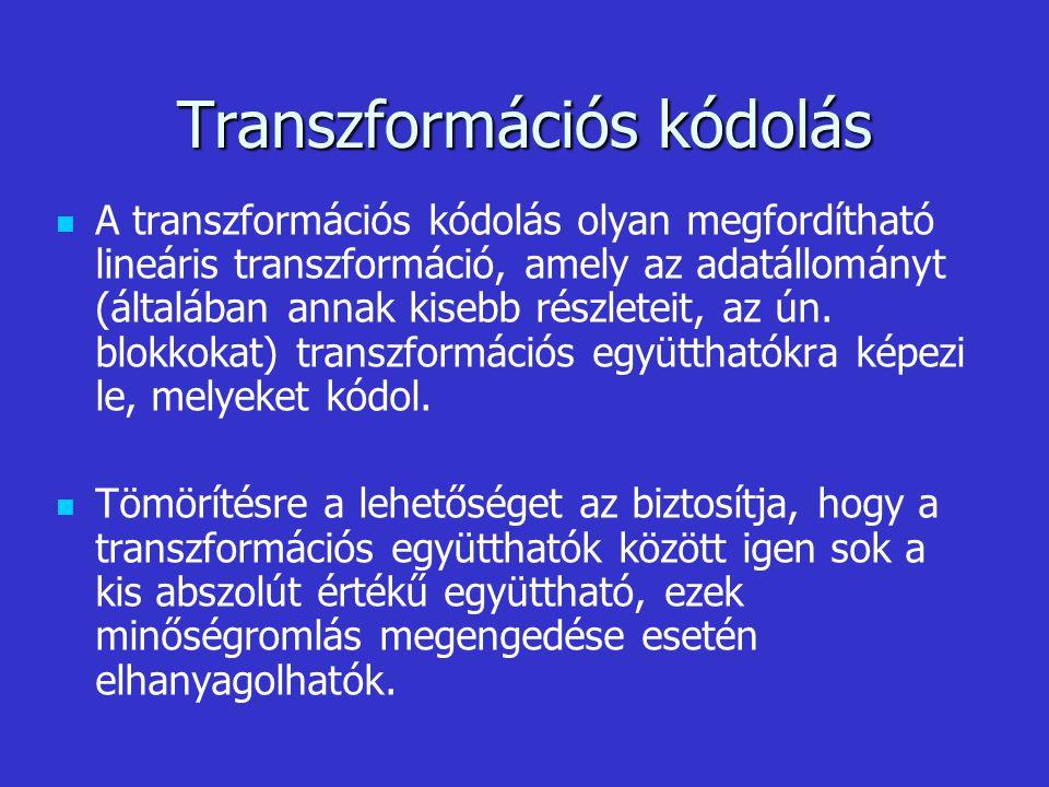 Transzformációs kódolás