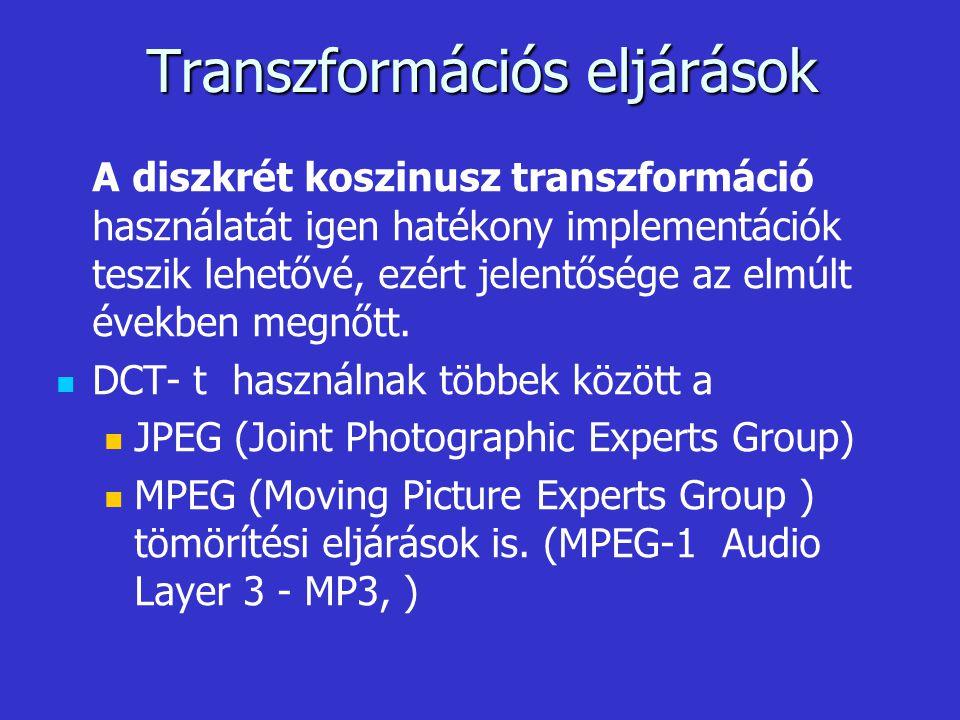 Transzformációs eljárások