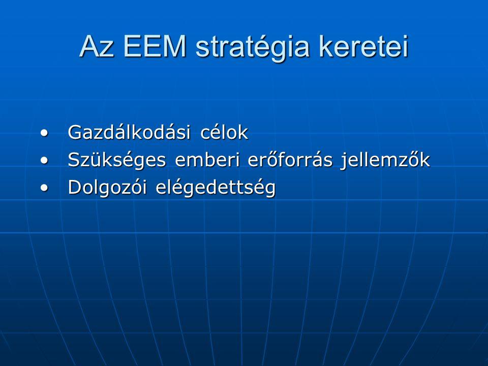 Az EEM stratégia keretei