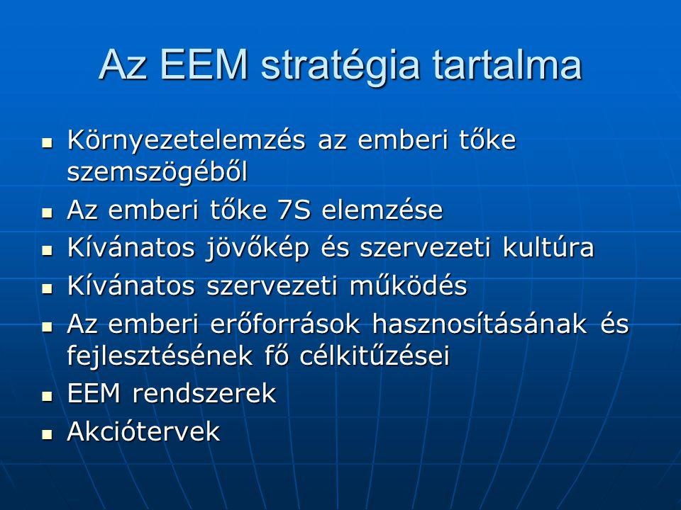 Az EEM stratégia tartalma