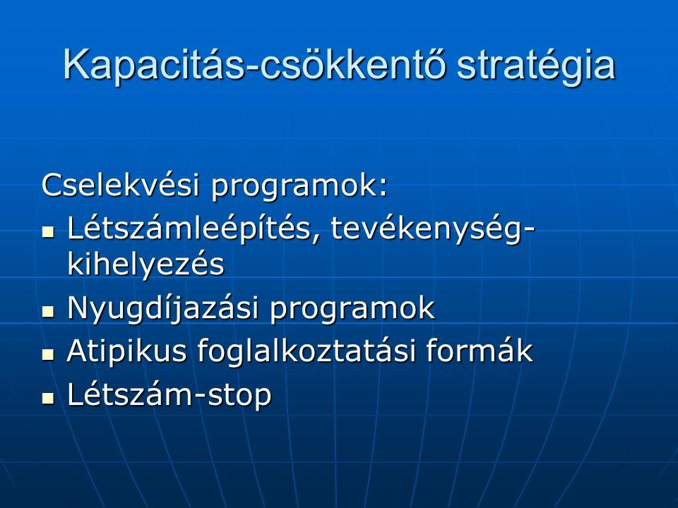Kapacitás-csökkentő stratégia
