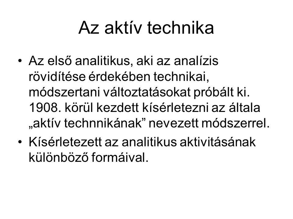 Az aktív technika
