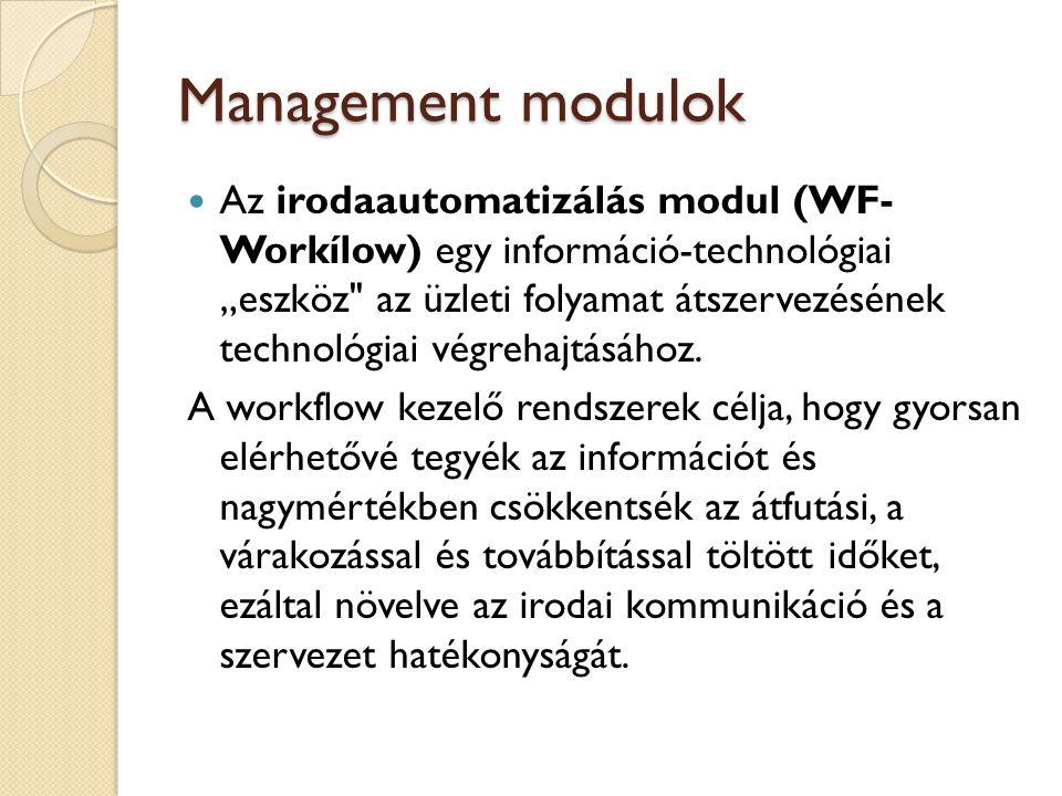 Management modulok