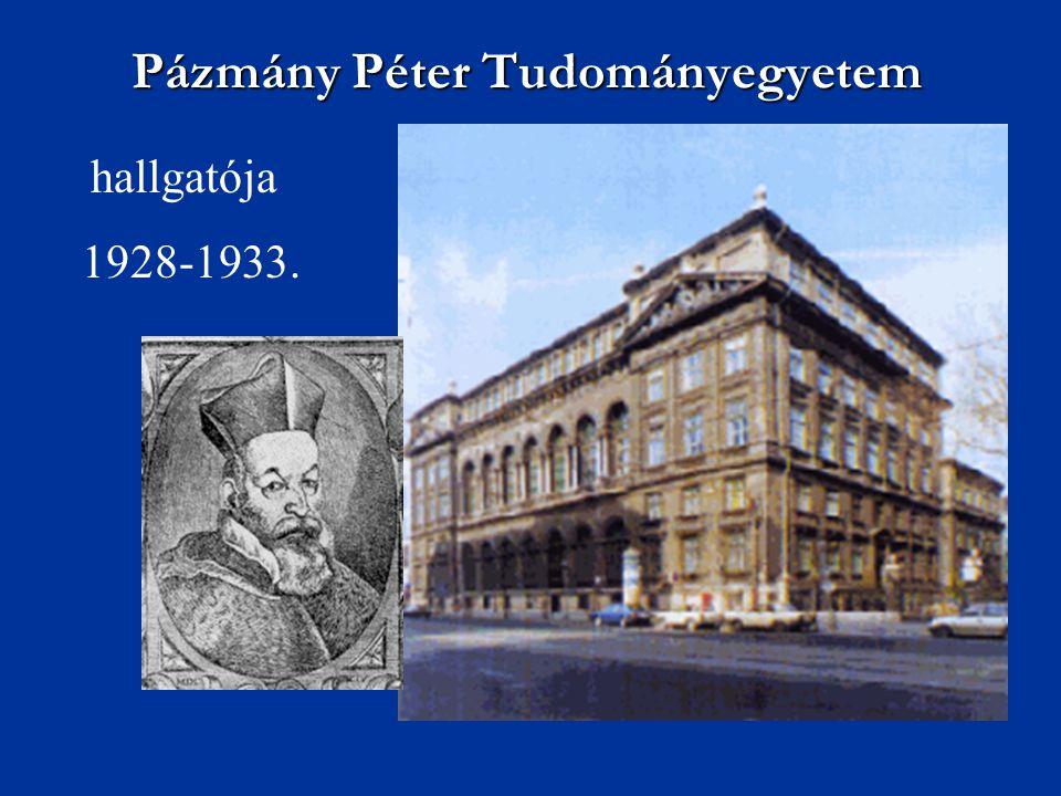 Pázmány Péter Tudományegyetem