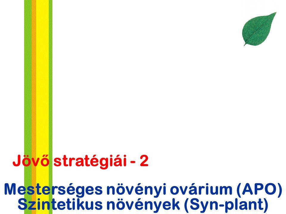 Mesterséges növényi ovárium (APO) Szintetikus növények (Syn-plant)