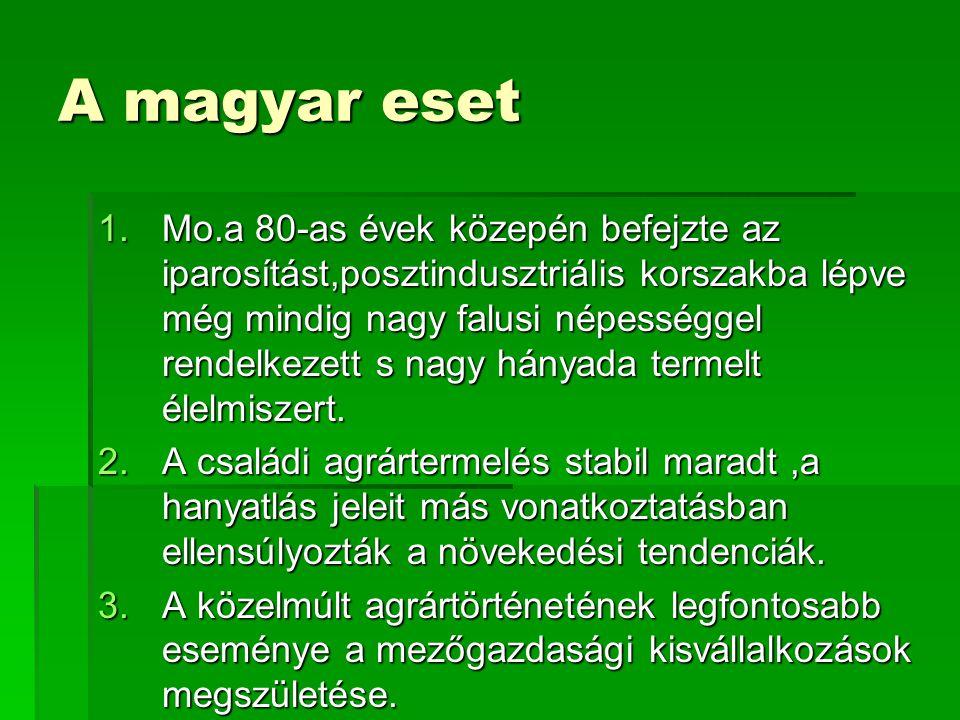 A magyar eset