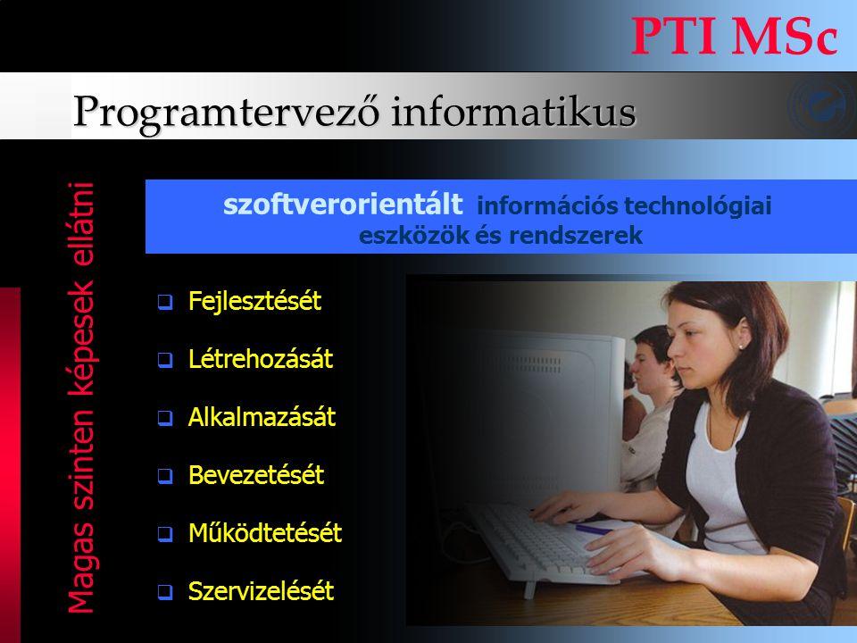Programtervező informatikus