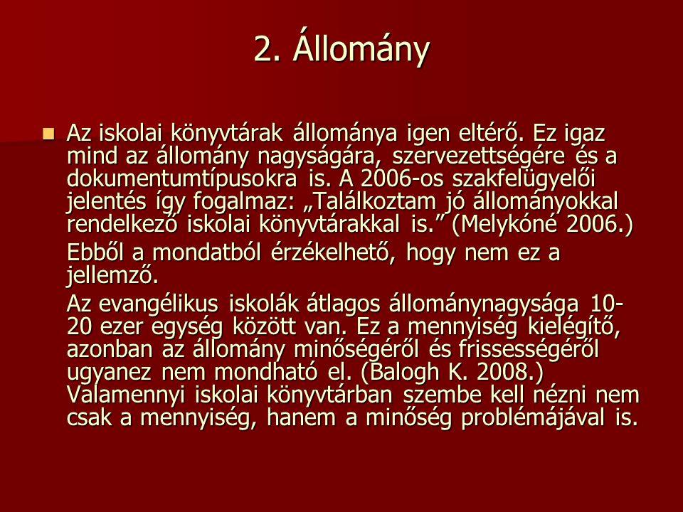 2. Állomány