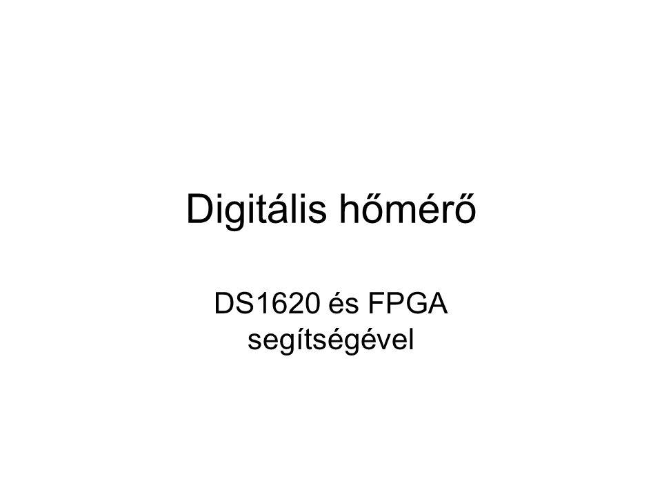 DS1620 és FPGA segítségével