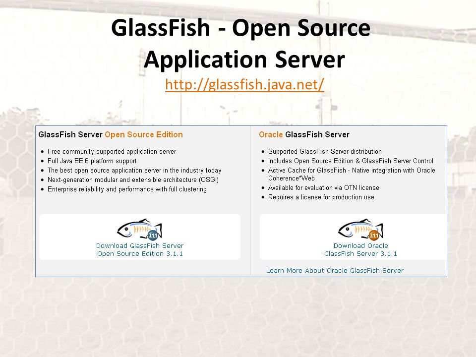 GlassFish - Open Source