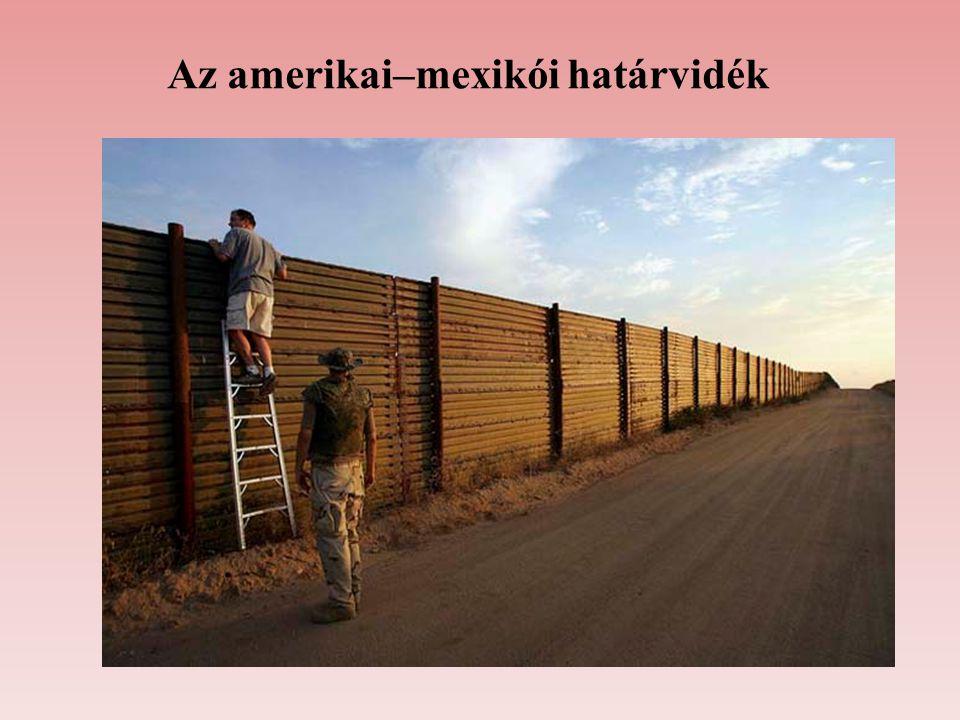 Az amerikai–mexikói határvidék