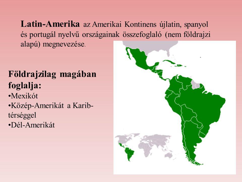 Földrajzilag magában foglalja: