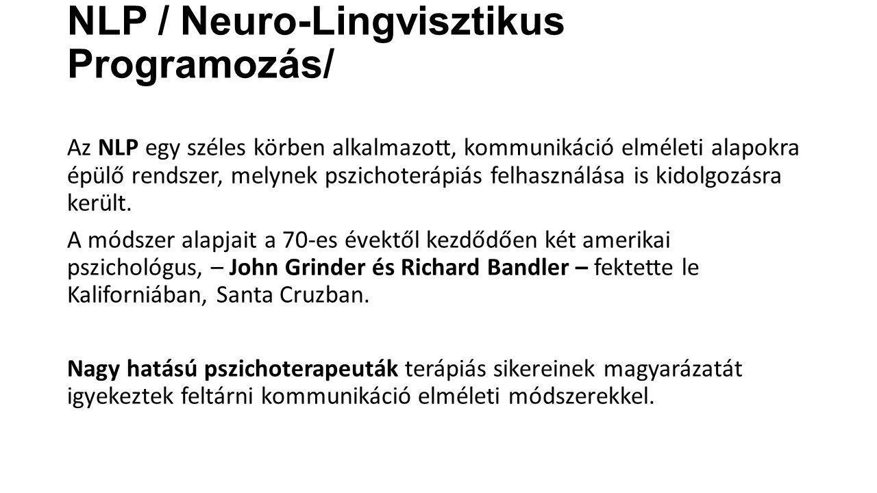 NLP / Neuro-Lingvisztikus Programozás/
