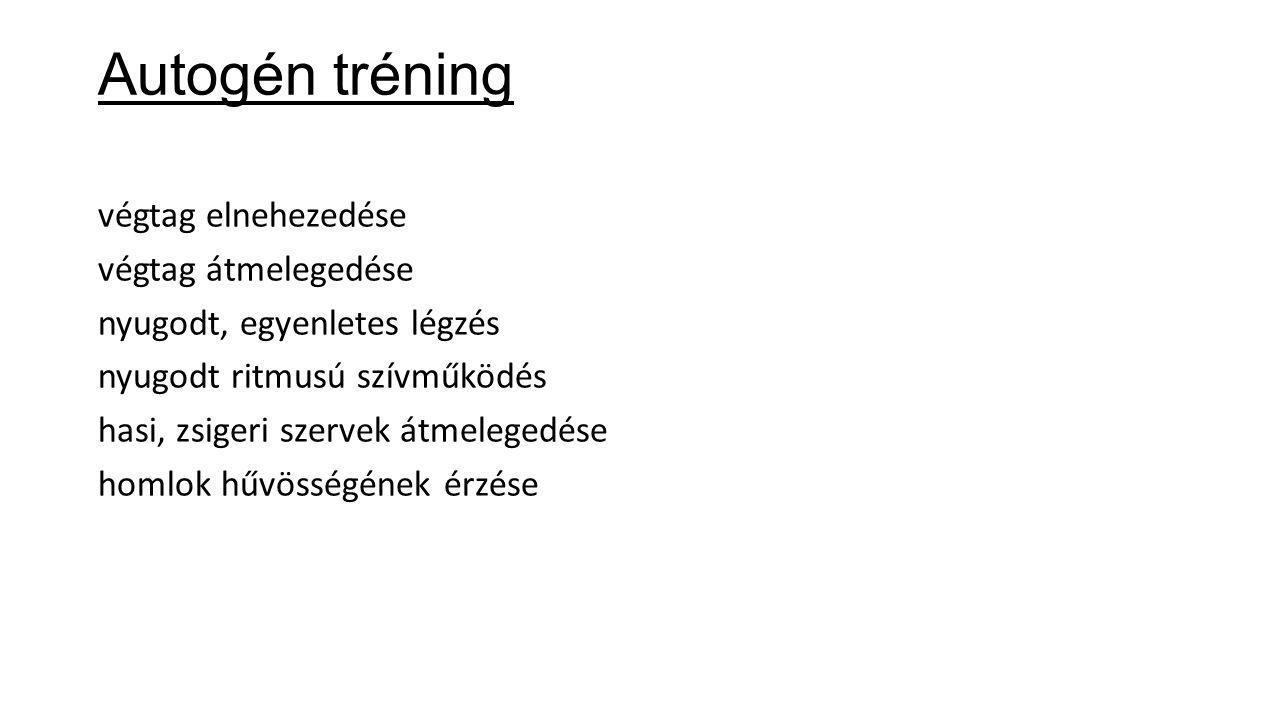 Autogén tréning