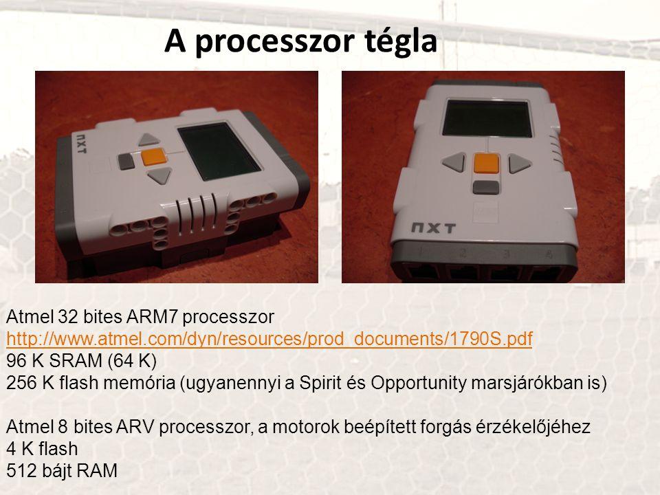 A processzor tégla Atmel 32 bites ARM7 processzor