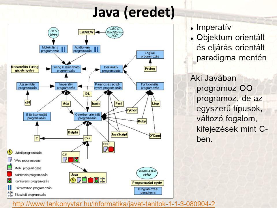 Java (eredet) Imperatív