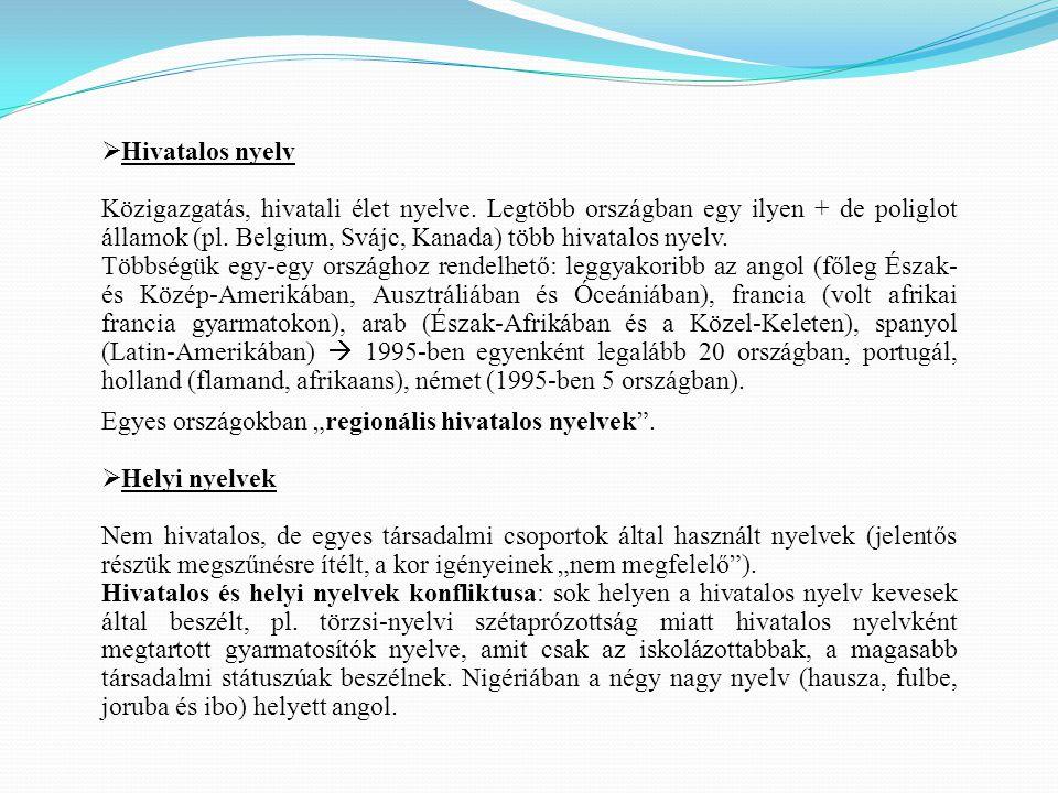 Hivatalos nyelv
