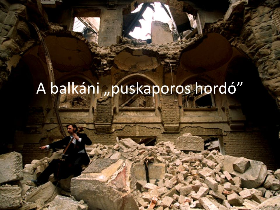 """A balkáni """"puskaporos hordó"""