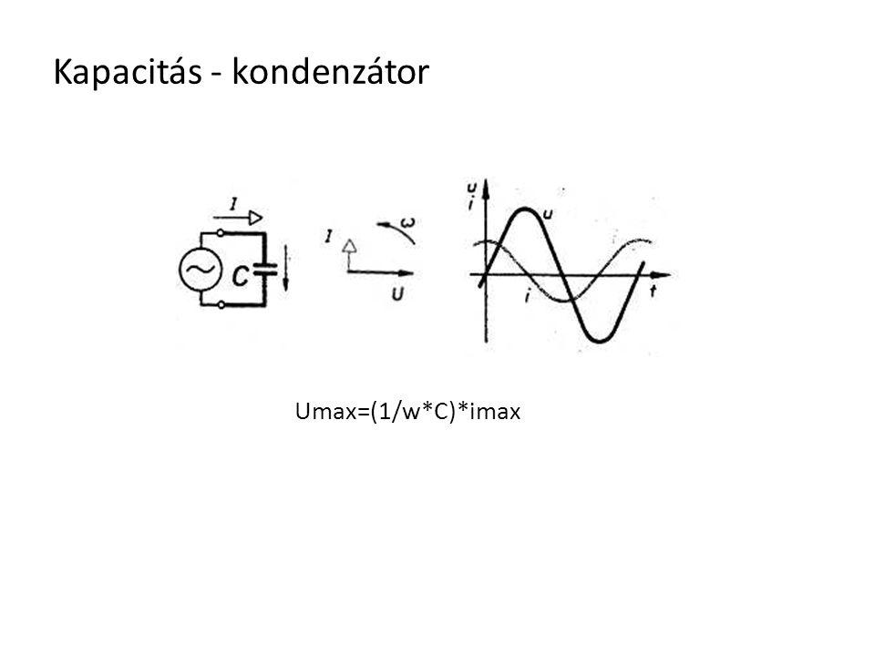 Kapacitás - kondenzátor