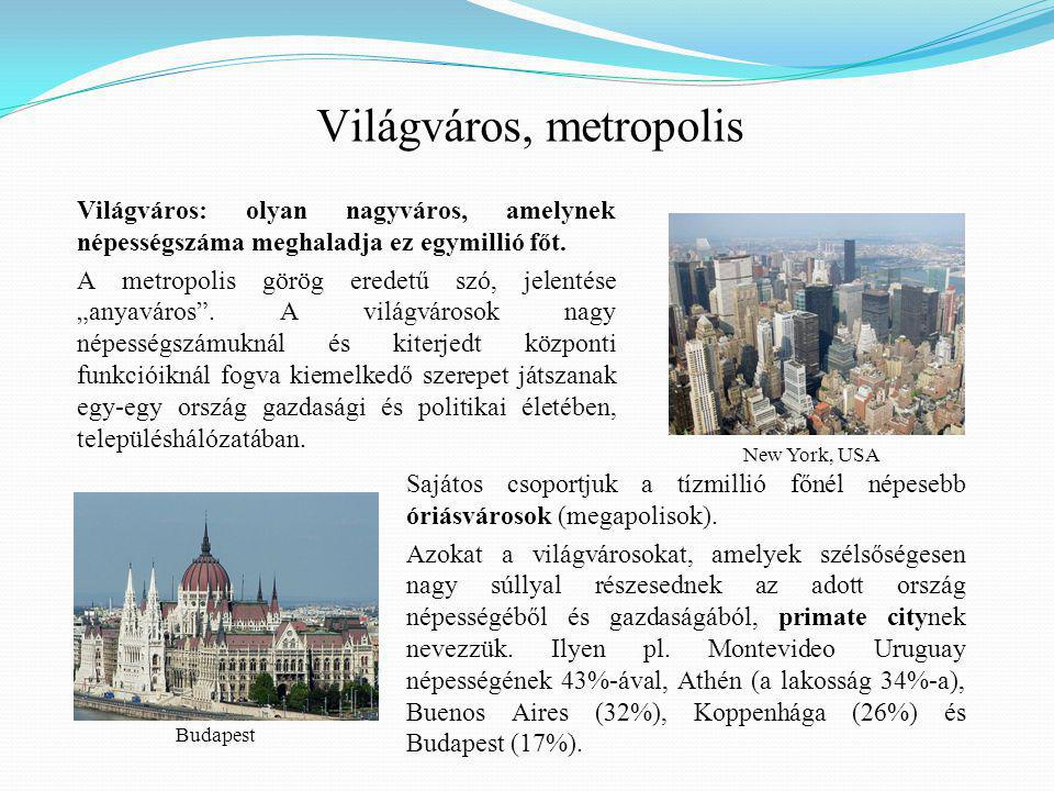 Világváros, metropolis