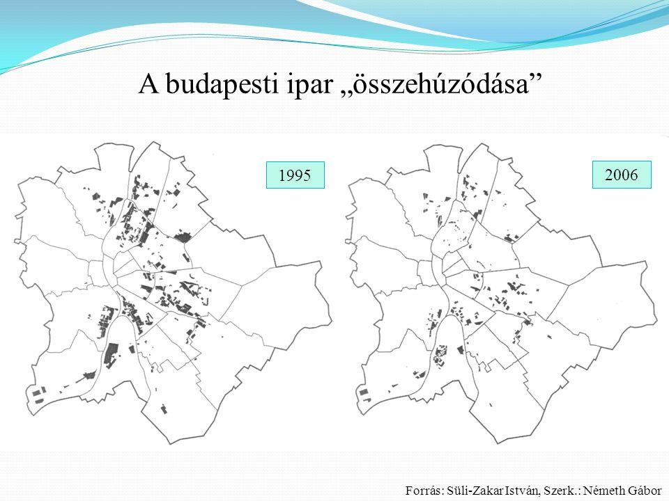"""A budapesti ipar """"összehúzódása"""