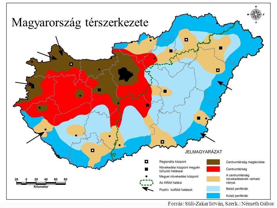 Magyarország térszerkezete