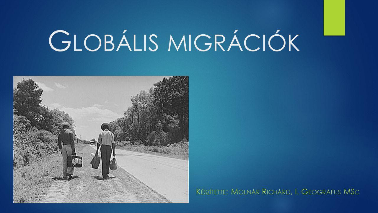 Készítette: Molnár Richárd, I. Geográfus MSc