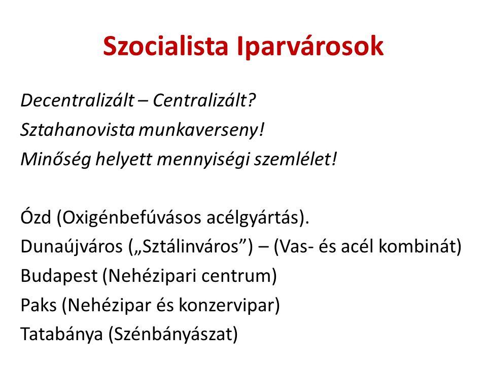 Szocialista Iparvárosok