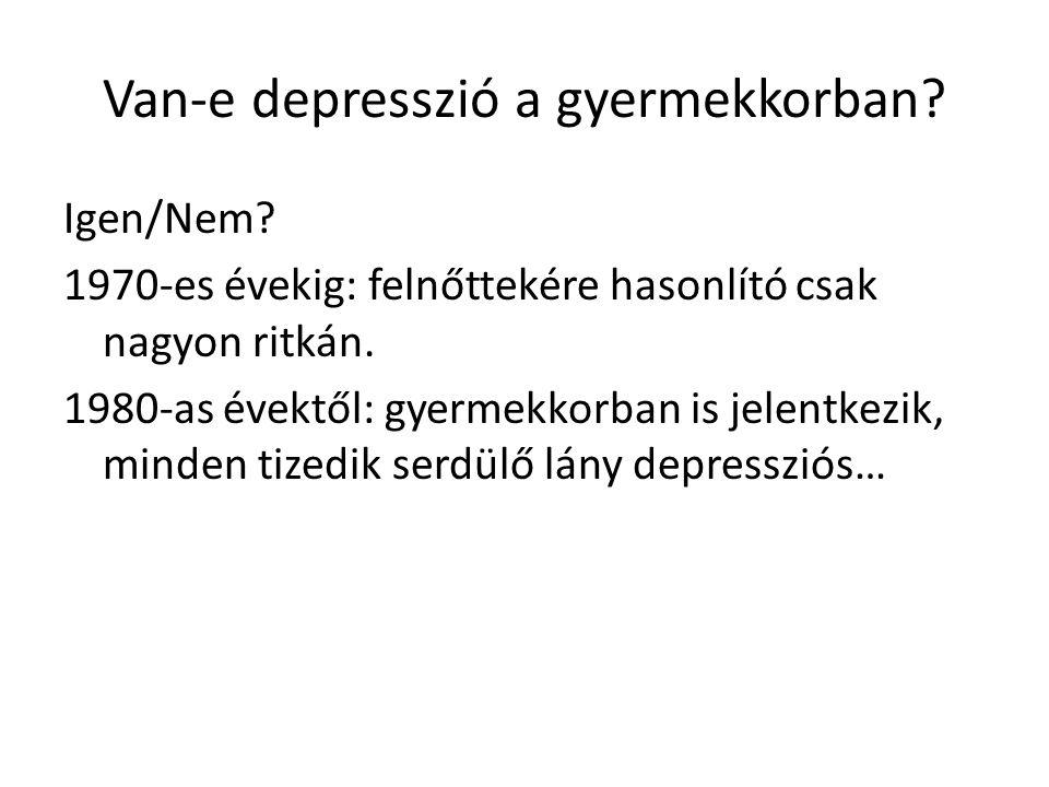 Van-e depresszió a gyermekkorban
