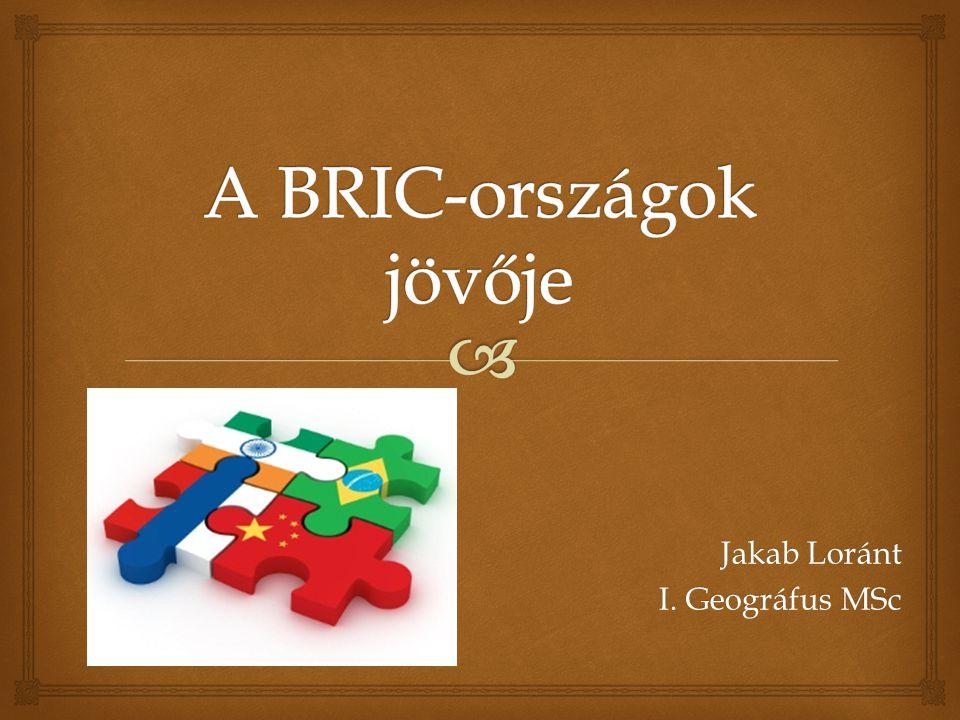 A BRIC-országok jövője