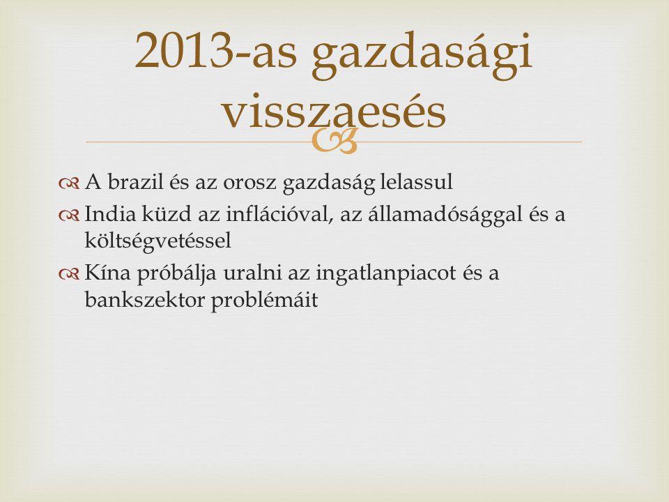 2013-as gazdasági visszaesés