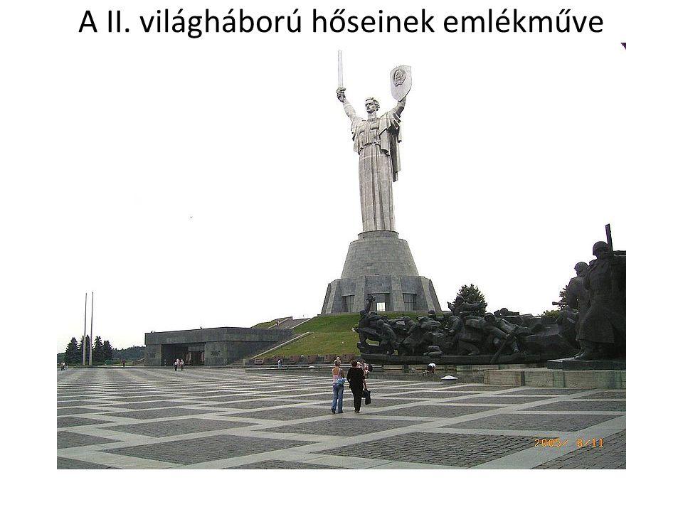 A II. világháború hőseinek emlékműve